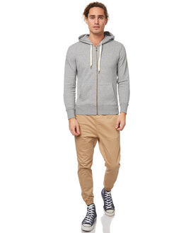 GREY MENS CLOTHING ACADEMY BRAND JUMPERS - 17W518GRE