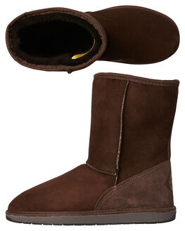 CHOCOLATE WOMENS FOOTWEAR UGG AUSTRALIA UGG BOOTS - SSTID34CHOCW
