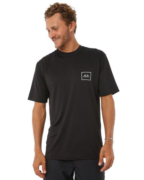 JET BLACK SURF RASHVESTS OAKLEY MENS - 482305AU01K