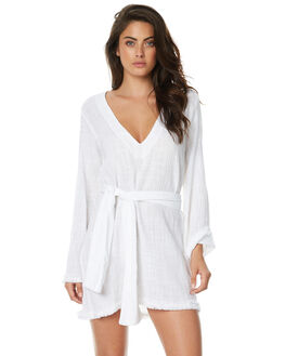 WHITE WOMENS CLOTHING RUE STIIC DRESSES - JA1723YWHT