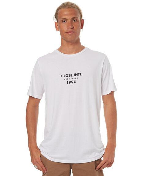 WHITE MENS CLOTHING GLOBE TEES - GB01720002WHT