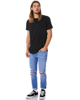 BLUE CHARGE MENS CLOTHING A.BRAND JEANS - 812024073