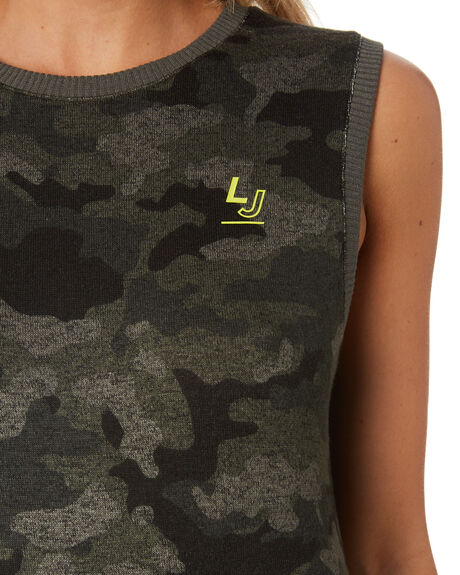 CAMO PRINT WOMENS CLOTHING LORNA JANE ACTIVEWEAR - 111927CAM