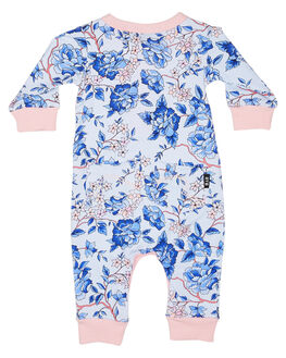 87eedf952c9 ... LIGHT BLUE KIDS BABY ROCK YOUR BABY CLOTHING - BGB1963-OFLBLU. ROCK  YOUR BABY 1 Baby Oriental Floral Ls Playsuit