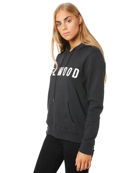 BLACK WOMENS CLOTHING ELWOOD JUMPERS - W01202BLK