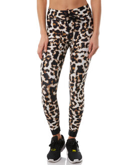 LEOPARD WOMENS CLOTHING THE UPSIDE ACTIVEWEAR - UPL1661LEO