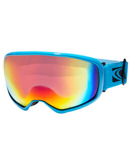 MATT CYAN RED BOARDSPORTS SNOW CARVE GOGGLES - 6004MCYAR