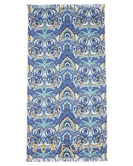 ANTIGUA BLUE WOMENS ACCESSORIES SEAFOLLY BEACH ACCESSORIES - 71574-TLANTBL