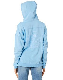 AWASH BLUE WOMENS CLOTHING O'NEILL JUMPERS - 5321503AWB