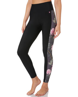 ANTHRACITE WOMENS CLOTHING HURLEY ACTIVEWEAR - CT1210060