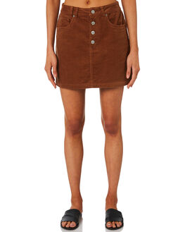 TOFFEE CORD WOMENS CLOTHING INSIGHT SKIRTS - 5000003439TOF
