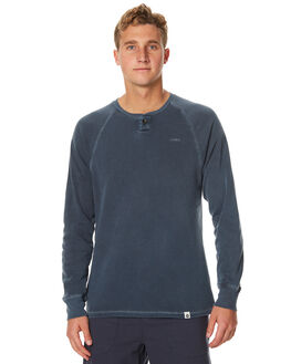 NAVY MENS CLOTHING OURCASTE JUMPERS - F1027NVY