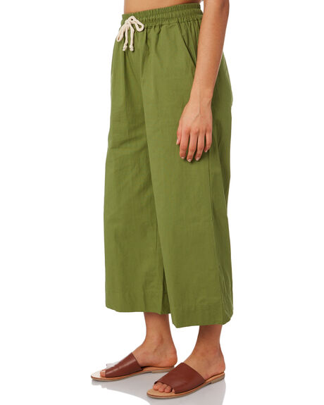FOREST GREEN OUTLET WOMENS THE BARE ROAD PANTS - 991041-07FOR
