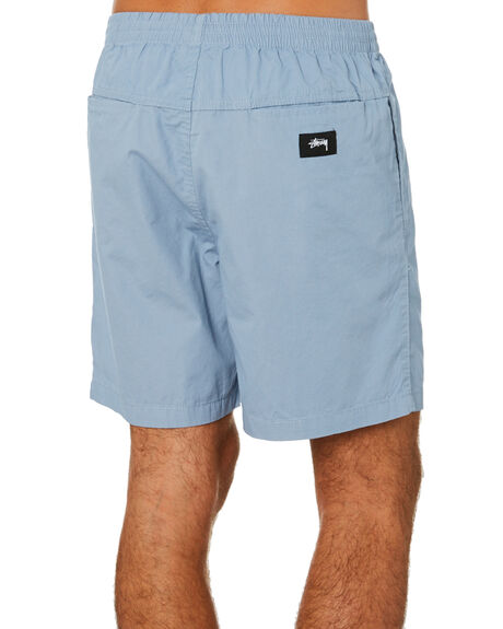 DUSTY BLUE MENS CLOTHING STUSSY SHORTS - ST091601DSTBL