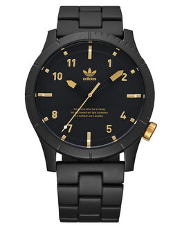 MATTE BLACK GOLD MENS ACCESSORIES ADIDAS WATCHES - Z03-1041-00MBLK