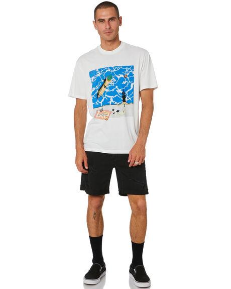 VINTAGE WHITE MENS CLOTHING LEE TEES - L-602076-066