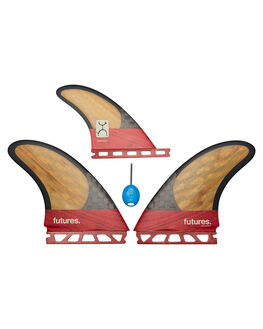RED BOARDSPORTS SURF FUTURE FINS FINS - 4580-451-00RED