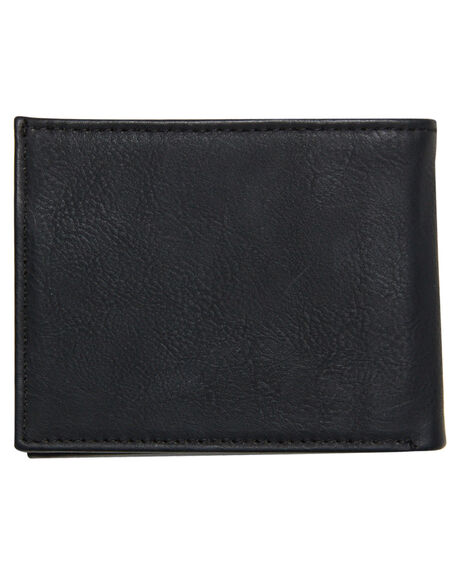 BLACK MENS ACCESSORIES VOLCOM WALLETS - D6031648BLK