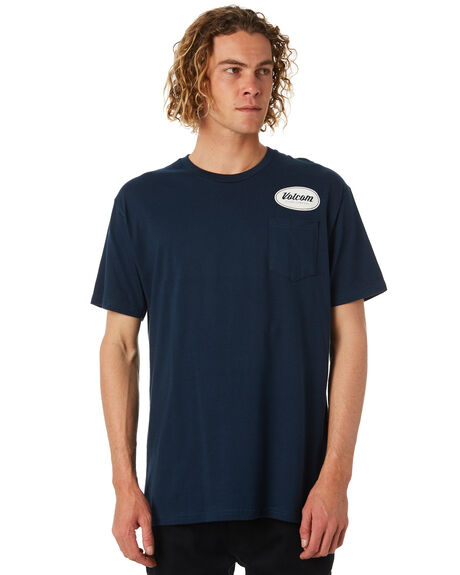 NAVY OUTLET MENS VOLCOM TEES - A35417D0-NAVY
