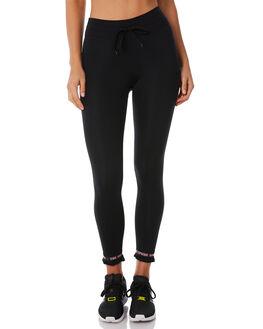 BLACK WOMENS CLOTHING THE UPSIDE PANTS - UPL1827BLK