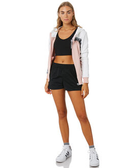 WHITE PINK WOMENS CLOTHING ADIDAS ACTIVEWEAR - EC0743WTPK