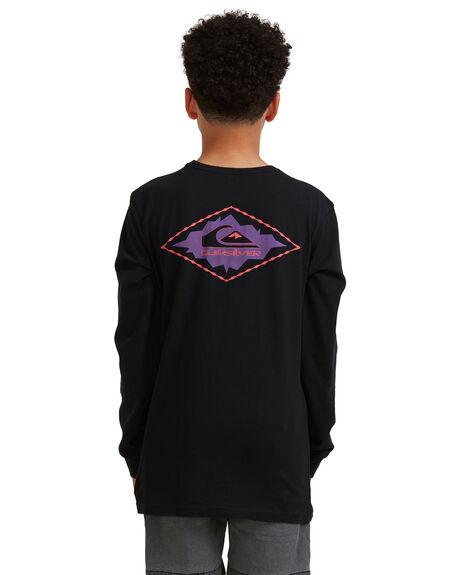 BLACK KIDS BOYS QUIKSILVER TOPS - UQBZT03231-KVJ0