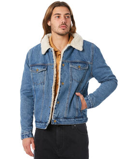 STONE WASH MENS CLOTHING ROLLAS JACKETS - 15108653