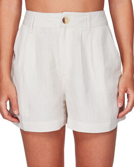 LINEN WOMENS CLOTHING RVCA SHORTS - RV-R292311-L10