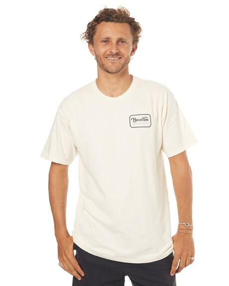 OFF WHITE MENS CLOTHING BRIXTON TEES - 06251OFFBK