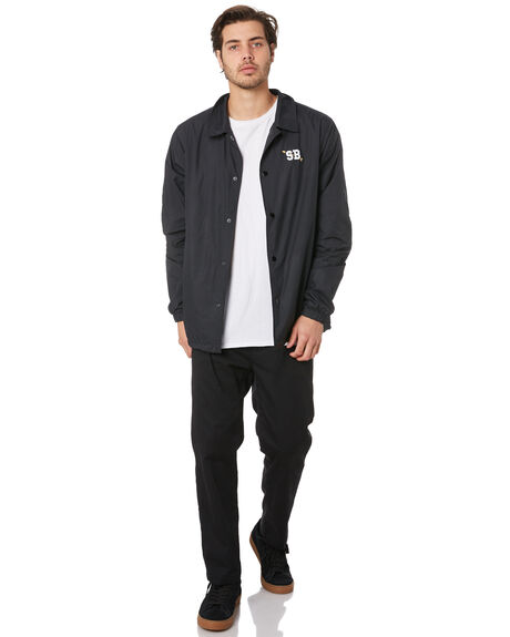 BLACK MENS CLOTHING NIKE JACKETS - CI2612010