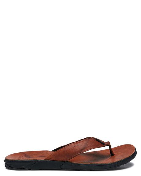 BROWN MENS FOOTWEAR RIP CURL THONGS - TCTG411522