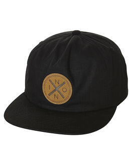 BLACK MENS ACCESSORIES NIXON HEADWEAR - C2685000