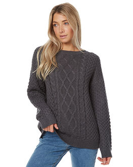 CHARCOAL WOMENS CLOTHING THE HIDDEN WAY KNITS + CARDIGANS - H8172156CHAR