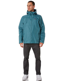 TASMANIAL TEAL MENS CLOTHING PATAGONIA JACKETS - 83802TATE
