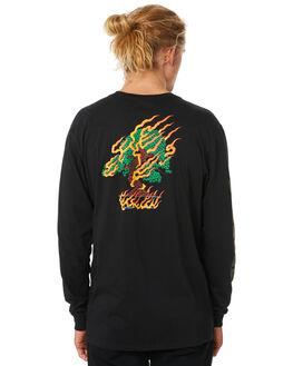 BLACK MENS CLOTHING HURLEY TEES - CI2950010