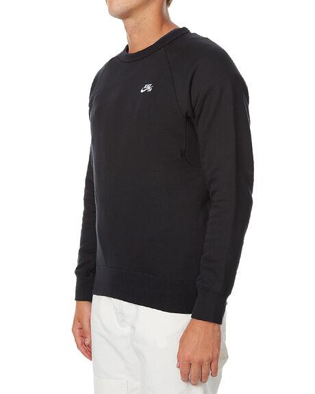 BLACK MENS CLOTHING NIKE JUMPERS - 800153010
