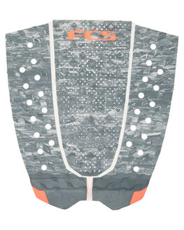 GREY FADE BOARDSPORTS SURF FCS TAILPADS - FT302GRYFD