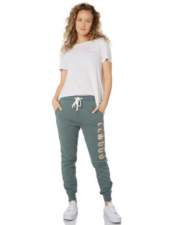HUNTER GREEN WOMENS CLOTHING ELWOOD PANTS - W9161343S