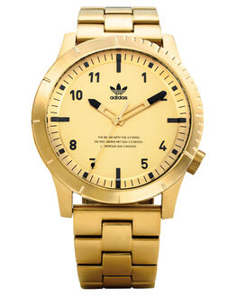 ALL GOLD BLACK MENS ACCESSORIES ADIDAS WATCHES - Z03-510-00AGLDB