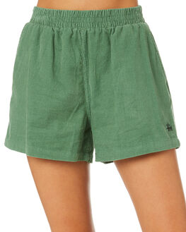 SEAFOAM WOMENS CLOTHING STUSSY SHORTS - ST193603SEA