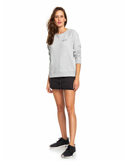 HERITAGE HEATHER WOMENS CLOTHING ROXY JUMPERS - ERJFT04066-SGRH