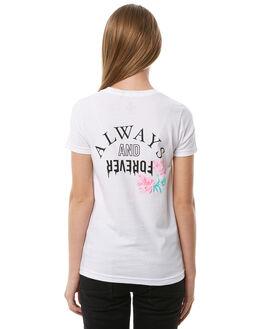 WHITE KIDS GIRLS VOLCOM TEES - B35118Y1WHT