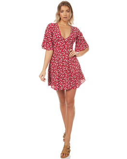 MULTI WOMENS CLOTHING MINKPINK DRESSES - MP1703457MULTI