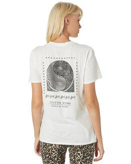 STAR WHITE WOMENS CLOTHING VOLCOM TEES - B3521903SWH