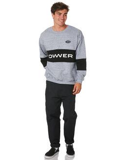 GREY BLACK MENS CLOTHING LOWER JUMPERS - LO19Q2MSW04GRYBK