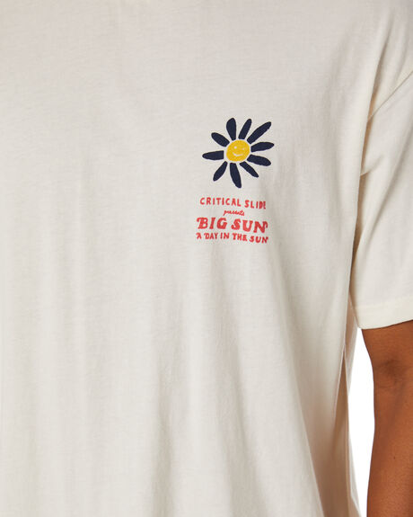 VINTAGE WHITE MENS CLOTHING THE CRITICAL SLIDE SOCIETY TEES - TESMU2005VWHT