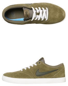 OLIVE WHITE BLACK WOMENS FOOTWEAR NIKE SNEAKERS - SS843895-200W