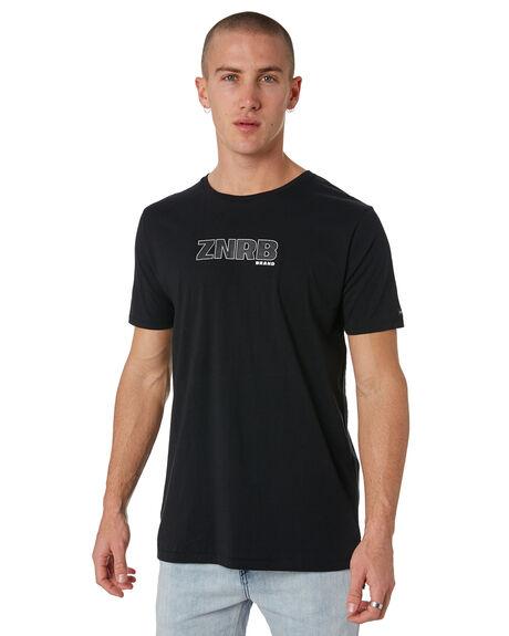 BLACK MENS CLOTHING ZANEROBE TEES - 111-METBLK