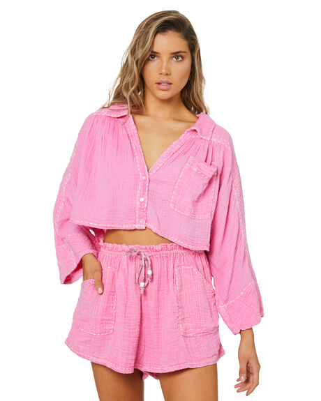 BUBBLE GUM WOMENS CLOTHING FREE PEOPLE PLAYSUITS + OVERALLS - OB1270033BBG