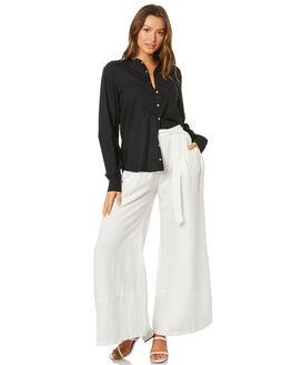 BLACK WOMENS CLOTHING TIGERLILY FASHION TOPS - T305054BLK